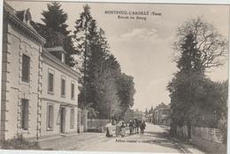 Eure :  MONTREUIL  L '  ARGILLE  : Entrée  Du  Bourg - Autres Communes