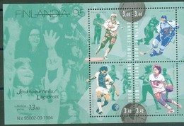 Finland 1995 - FINLANDIA'95 : Sport, Bl. 15, MNH** - Finland