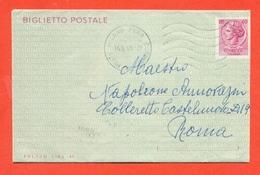 INTERI POSTALI-  - Biglietti Postali- B47 - - 6. 1946-.. Repubblica