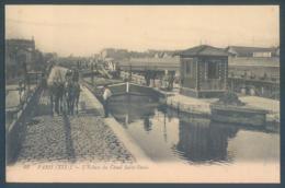 75 PARIS 19e L'Ecluse Du Canal Saint Denis - District 19