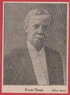 Francis Thomé. Pianiste. 1909. - Sin Clasificación