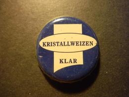 Capsule De Bière Avec Inscription Kristallweizen Klar - DEUTSCHLAND - Birra