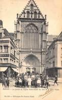 Antwerpen Anvers     Le Portail De L'eglise Notre Dame Onze Lieve Vrouwe Kerk Met Kinderen    L 738 - Antwerpen