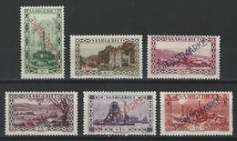 Saargebiet Mi D16-21, Yv 20-23, 24, 26  *  MH - Dienstmarken