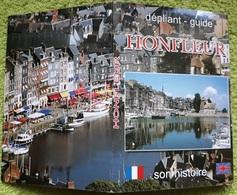 # SOUVENIR DA HONFLEUR - PIEGHEVOLE / CARNET - HONFLEUR 10 CARTOLINE - Lisieux
