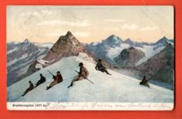 MY-19 Pointe Du Breithorn Alpinistes. Matternorn. Pionier. Gelaufen - VS Valais
