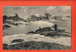 MY-24 Valtournenche Valtournanche Col Du Théodule Et Breithorn. Alpinistes. Circulé En 1913 Vers France - Italie