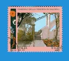 Italia- °-2014 - GIARDINO Della MINERVA, SALERNO. - Unif. 3537.  Usato. - 6. 1946-.. Republik