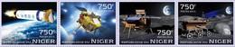 "Niger 2013. [nig13725] Lunar Probe ""Chang'e-3"" - Espace"