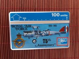 Phonecard Gibraltar Royal Airforce 308 A Probaly New Not Sure Rare - Gibraltar
