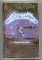 Metallica Ride The Lightning   Cassette - Audio Tapes