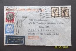 Deutsches Reich: 1934 Air Cover To Brasilien (#LS10) - Germany
