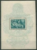 Ungarn 1940 König Matthias Block 8 Mit Falz S.Hinweis (C92361) - Hojas Bloque