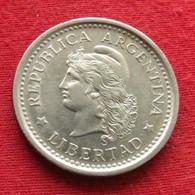 Argentina 1 Peso 1960 KM# 57  Argentine - Argentine