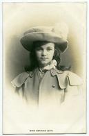 ACTRESS : MISS GWENNIE JOHN - Theatre