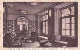 76 Dieppe, Hôtel De Paris (Près Le Casino), Le Salon - Dieppe