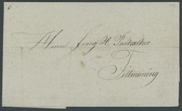 1841, Fuhrmannsbrief Aus HAFNERZELL Nach Tittmoning, Pracht -> Automatically Generated Translation: 1841, Carter&#039,s  - Germany