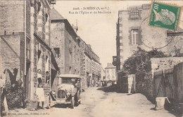 Saint Méen Le Grand, 35, Rue De L'Eglise Et Du Séminaire, Voiture Ancienne - Andere Gemeenten