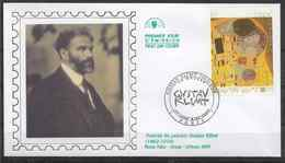 2002 FRANCE 3461 FDC CEF Tableau, Klimt - FDC