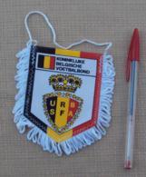 Sport 017, Football Fanion Foot URBSFA Royale Belge Des Societes De Football - Habillement, Souvenirs & Autres