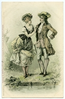 MISCH & STOCK : EIGHTEENTH CENTURY ROMANTIC COUPLE - Couples