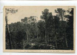 Porquerolles Fort Sainte Agathe - Porquerolles