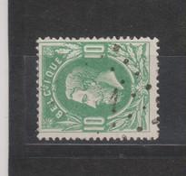 COB 30 Oblitération à Points 1 AELTRE +10 - 1869-1883 Léopold II