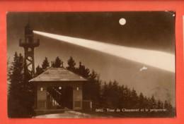 MY-26 Tour De Chaumont Et Le Projecteur. Phototypie 6892 Circulé 1923 - NE Neuenburg