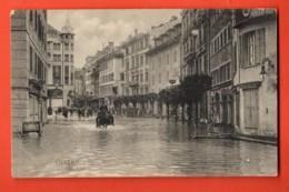MY-31 Luzern Kappelplatz, Inondations. Circulé Sous Enveloppe En 1917. - LU Lucerne