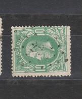 COB 30 Oblitération à Points 22 AUVELAIS +8 - 1869-1883 Léopold II