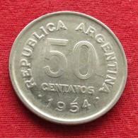 Argentina 50 Centavos 1954 KM# 49  Argentine - Argentine
