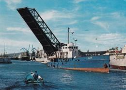 34 Sète, Le Canal Et Le Pont Basculant - Sete (Cette)