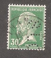 Perforé/perfin/lochung France No 174 SLC Scheurer-Lauth Et Cie - France