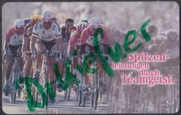 TEAM TELEKOM, Radrennfahrer, Deutsche Telefonkarte 12 DM, 1998 - Sport
