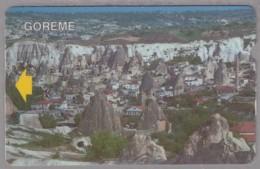 TÜRKEI TELEFONKARTE Taxcard 60, Motiv: Goreme - Landschaften