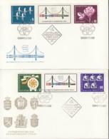 BULGARIEN 1831-32, 1848-49, 2 FDC, Zusammenarbeit Mit Skandinavien 1968 - Europa-CEPT