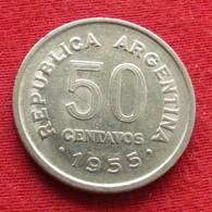 Argentina 50 Centavos 1955 KM# 49 *V2  Argentine - Argentine