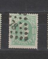 COB 30 Oblitération à Points 78 CHATELINEAU +1 - 1869-1883 Léopold II