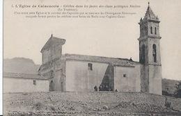 Corse - 5 - Eglise De Calacuccia Célèbre Dans Les Fastes Des Clans Politiques Niolins..rare - Frankreich