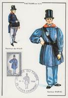 Carte  Maximum   1er  Jour   FRANCE    Journée  Du  Timbre     VIEUX  CHARMONT    1968 - Cartes-Maximum