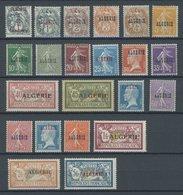 ALGERIEN 1-22 **, 1924/5, Freimarken, Postfrischer Prachtsatz - Algerien (1962-...)