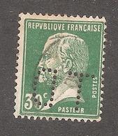 Perforé/perfin/lochung France No 174 TD Thérèse De Dillmont - Perforés