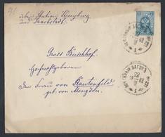 R98.Stamp Envelope. Post Of 1909; TPO No. 271 Jakobstadt (Kurl.gub). Railway Mail. - 1857-1916 Empire