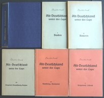 PHIL. LITERATUR Altdeutschland Unter Der Lupe - Baden - Lübeck, Band I, 4. Auflage, 1956, Ewald Müller-Mark, 374 Seiten, - Filatelia E Historia De Correos
