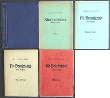 PHIL. LITERATUR Altdeutschland Unter Der Lupe - Sachsen - Württemberg, Band III, 4. Auflage, 1956, Ewald Müller-Mark, Ca - Filatelia E Historia De Correos