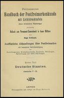 PHIL. LITERATUR Krötzsch-Handbuch Der Postfreimarkenkunde - Abschnitte V-IX, Braunschweig - Lübeck, Mit Lichttafeln I-V  - Filatelia E Historia De Correos