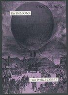 PHIL. LITERATUR Die Ballons Von Paris 1870-71, 1970, Gunther Heyd, 55 Seiten, Mit Einigen Abbildungen - Filatelia E Historia De Correos