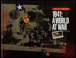 PHIL. LITERATUR 1941: A World AT War - World War II Remembred, James A. Michener, Texas Center, 40 Seiten, Gebunden - Filatelia E Historia De Correos