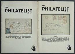 PHIL. LITERATUR The Philatelist, April 1975 Und May 1975, 32 Und 30 Seiten, Mit Vielen Abbildungen, In Englisch - Filatelia E Historia De Correos