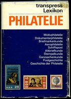 PHIL. LITERATUR Lexikon Philatelie, 2. Verbesserte Auflage, 1974, Grallert/Gruschke, 551 Seiten, Gebunden - Filatelia E Historia De Correos